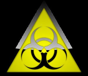 Image du symbole risque biologique